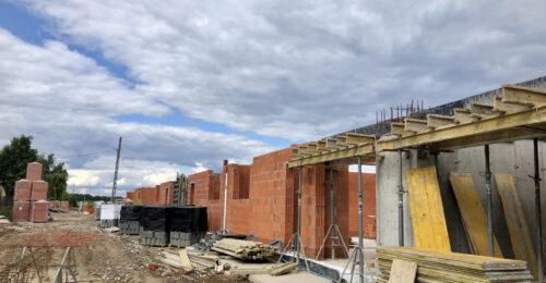 Zdjęcia z budowy – parter Osiedla Zgody!